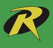 Robin Symbol (Badge Size) Kids Clothes