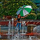 A Day at the fountain... by jwinman