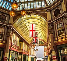 Leadenhall Market, City of London by Graham Prentice