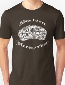 16 Horsepower music instrument T-Shirt