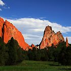 Garden of the Gods by Carl M. Moore