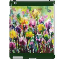 Dancing amongst the Tulips iPad Case/Skin