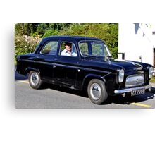 1960s Ford Prefect Canvas Print