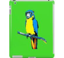 Parrot-Monkey iPad Case/Skin