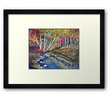 Nature's paint brush Framed Print