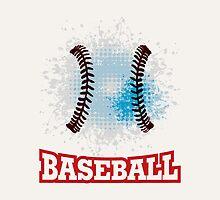 Vector grunge baseball  by orgus88