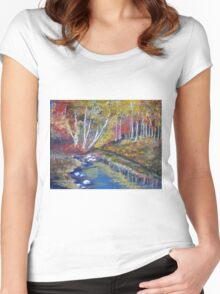 Nature's paint brush Women's Fitted Scoop T-Shirt