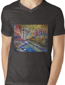 Nature's paint brush Mens V-Neck T-Shirt