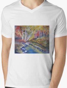 Nature's paint brush Mens V-Neck T-Shirt