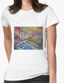 Nature's paint brush Womens Fitted T-Shirt