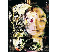 "Barcha's #1 watermark -- trio__mona, vincent & me ""barchaProcess"" Photographic Print"