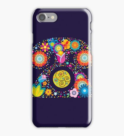 Abstract floral phone iPhone Case/Skin