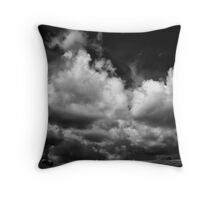 Butterfly wings of the storm Throw Pillow