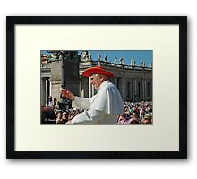 Pope Benedict XVI Framed Print
