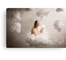 Obsessed by a fairy tale, we spend our lives searching for a magic door and a lost kingdom of peace. Canvas Print
