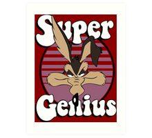 Super Genius Art Print