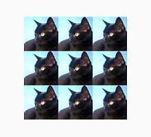 Black Cat- Warhol Style Unisex T-Shirt