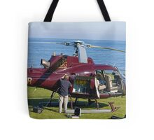 Helicopter field maintenance Tote Bag