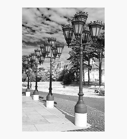 Old street lights Photographic Print