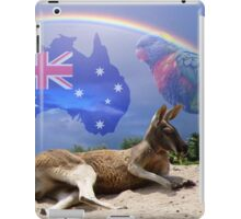 Kangaroo and Lorikeet iPad Case/Skin
