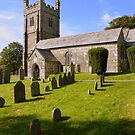 Dartmoor: Lydford Church by Rob Parsons