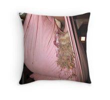 That soft nest... Throw Pillow