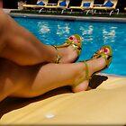 Pool Girl by lovinglizard