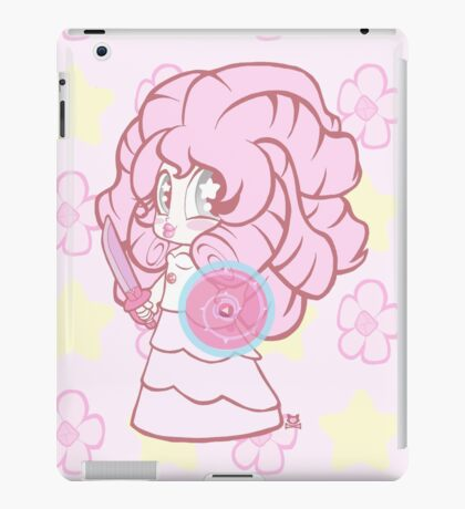 Weeny Gems- Rose Quartz iPad Case/Skin