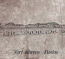 Fort Warren, Boston Massachusetts by CapeCodGiftShop