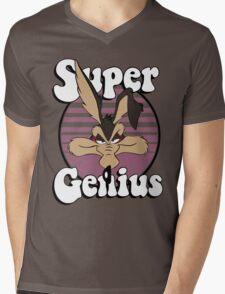 Super Genius Mens V-Neck T-Shirt