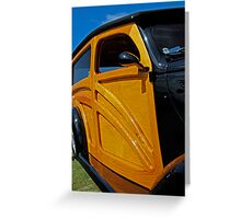 1937 Ford Woodie Greeting Card