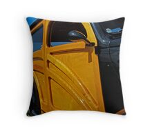 1937 Ford Woodie Throw Pillow