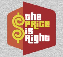 The Price is Right One Piece - Short Sleeve