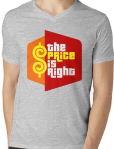The Price is Right Mens V-Neck T-Shirt