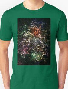 Neon Flame Rainbow Unisex T-Shirt