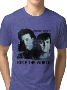 tears for fears / rule the world Tri-blend T-Shirt