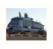 Mariner of the Seas-Victoria Art Print
