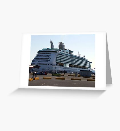 Mariner of the Seas-Victoria Greeting Card