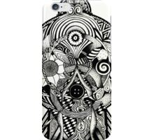 Circles of the lady iPhone Case/Skin
