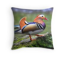 The Mandarin Throw Pillow