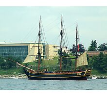 H.M.S.Bounty-Sailpast Photographic Print