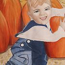 """""""Punkins!"""" by Leslie Gustafson"""
