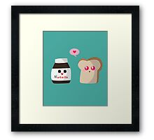 """""""Love is in the air"""" Framed Print"""