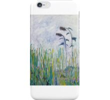 Sunflowers blue iPhone Case/Skin