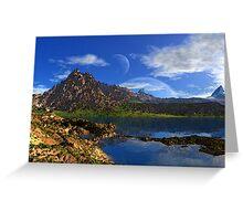 Mount Sadlish Greeting Card