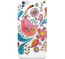 Spring Chicky White iPhone Case/Skin