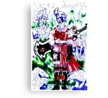 I am the exit, at hands rock.... Canvas Print