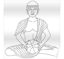 Buddha Ball Poster