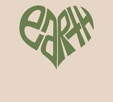 I HEART EARTH Womens Fitted T-Shirt