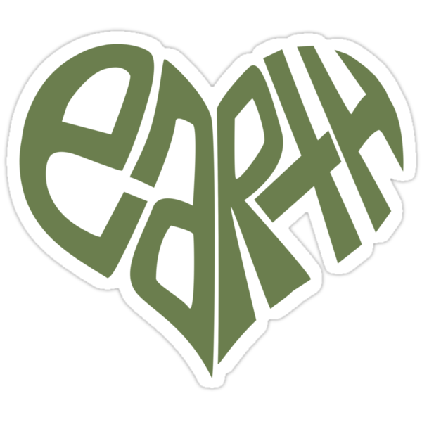 I HEART EARTH by TheLoveShop